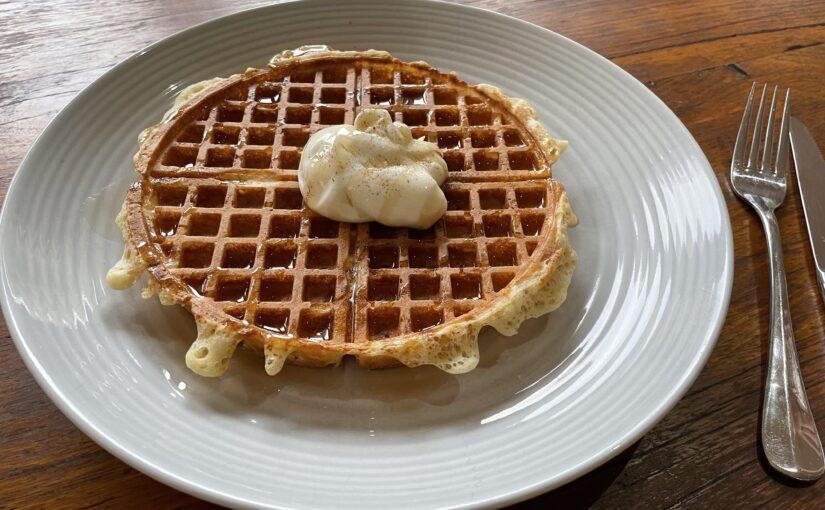 Gluten-Free Sourdough Waffles